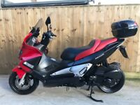 Gilera nexus 250cc scooter moped 2007 9000miles mint scooter