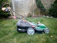 Quaycast lawnmower