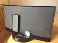 Bose sound dock with lighting adapter