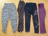 Girls Leggings age 7-9