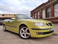 Saab 9-3 2.0 T Vector 2dr 1 OWNER+LEATHER+SENSOR+CRUISE RING NOW FOR MORE INFO 07735447270