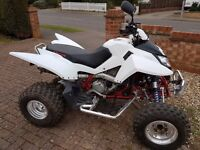 Apache RLX450 Quad Bike - Road Legal 2 seater - Only 1,500 miles