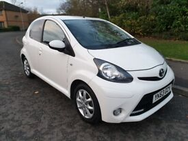 2013 63 TOYOTA AYGO MODE 1.0 * ONLY 45K MILES * FULL SERVICE HISTORY * ZERO COST ROAD TAX *