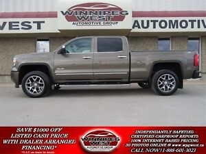 2015 GMC Sierra 1500 ALL TERRAIN CREW 4X4, LOADED, LOCAL, LOW KM