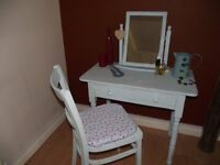 Beautiful dressing table and chair set