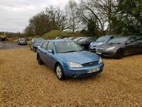 2002 Ford Mondeo LX 1.8 4dr Saloon 7 Months MOT No Advisorys Full Service His...