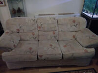 FREE!! 2 x 3seater sofas in good condition.