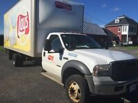 2005 Ford F-550 CHASSIS CAB XLT DIESEL CUBE