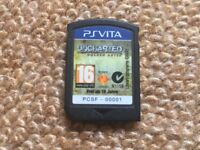 PS VITA Uncharted Golden Abyss Game CARTRIDGE ONLY