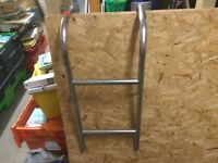Stainless Steel Ladder.