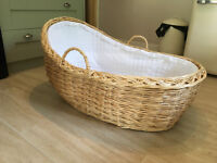 Moses Basket x-large with mattress