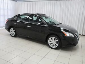 2014 Nissan Sentra SL TECH PACKAGE w/ HEATED LEATHER, NAVIGATION