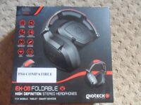 gioteck ps4 headphones brand new