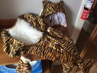 Tiger Fancy Dress Outfit, Age 12-24 months