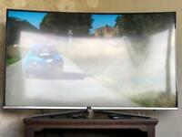 "Samsung 49"" Curved TV - 4K Ultra HD"