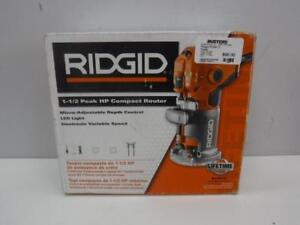 Ridgid Compact Router BRAND NEW/NEVER USED - We Buy and Sell Pre-Owned Tools - 116717 - AT810405