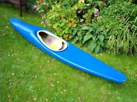 Kayak by Concept Canoes. Was £600 new. Good for polo or surf.
