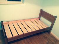 High quality solid wood single bed spacesaver (Warren Evans)