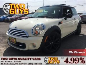 2013 MINI Cooper PANOROOF LEATHER SPORTY STICK
