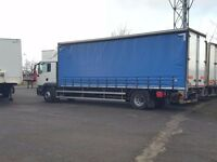 2012-62 plate man tgm 250-18 sleeper cab curtain tailift very low klms buy or lease plus vat