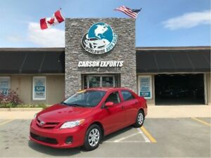 2013 Toyota Corolla WOW CLEAN COROLLA W/LOW KM! FINANCING AVAILA