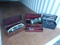 Retro Vintage 3X HOOVERS IN WOODEN CASES