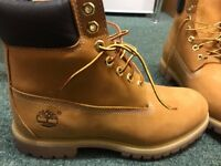 Timberland 6 inch premium boot, size 8