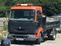Renault daf iveco tipper 7.5 ton