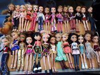 Bratz barbie dolls