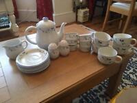 Vintage style tea set