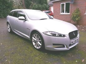 Jaguar XFS Estate, Superb Unmarked Condition inside and out. Huge spec. Tremendous performance