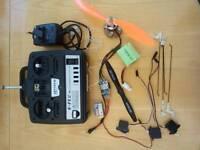 Electric Flight Parts.