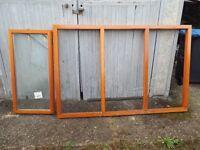 Timber window frames - Bargain
