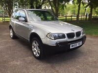BMW X3 2.0 Sport Diesel 2005 ***FSH*Panoramic Roof*Fully Loaded*Fantastic Offer***