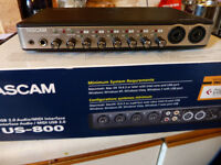 Tascam US800 Audio Interface