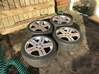 Toora 17 inch alloy wheels for Toyota Celica