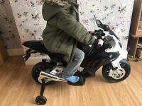 12v BMW childs motorbike
