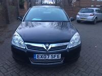 VAUXHALL ASTRA 1.6 AUTOMATIC 2007, FULL SERVICE HISTORY, 1 PREVIOUS OWNER, 2KEYS, LADY OWNER