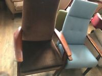 His and hers Parker Knoll arm chairs