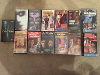 VHS Tapes 14 Films Movies Collection Age 18