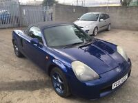Toyota MR2 1.8 VVT-i Roadster 2dr /1 Year MOT and just Serviced / 3 Month Warranty / HPI CLEAR