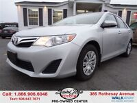 2013 Toyota Camry LE $123.57 BI WEEKLY!!!