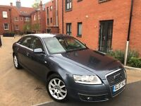 AUDI A6 2007 ** 3.0 TDI 233 QUATTRO**AUTOMATIC ** NAVIGATION ** HEATED LEATHER SEATS ** 12 MONTH MOT