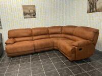Harvey's big boy left or right hand recliner corner sofa