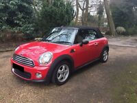 2010 1.6 Mini Convertible Red * Great condition*