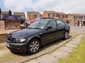 Bmw 318 i se black manual saloon 2002 spares or repairs