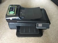 HP Officejet 7500a all in one printer scan fax copy