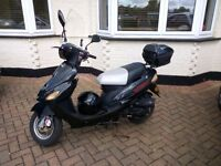 Good condition 2013 Direct Bikes 50cc moped one owner