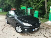 Peugeot 206 BLACK great first car