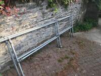 Handrail - galvanised steel